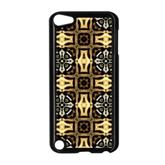 Faux Animal Print Pattern Apple Ipod Touch 5 Case (black) by creativemom