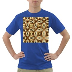 Faux Animal Print Pattern Men s T Shirt (colored) by creativemom