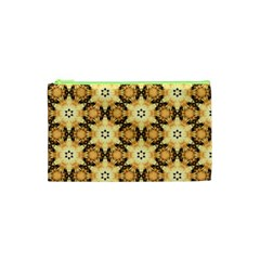 Faux Animal Print Pattern Cosmetic Bag (xs) by creativemom