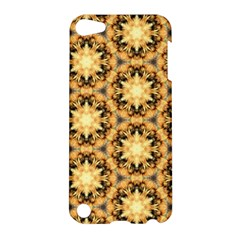 Faux Animal Print Pattern Apple Ipod Touch 5 Hardshell Case by creativemom