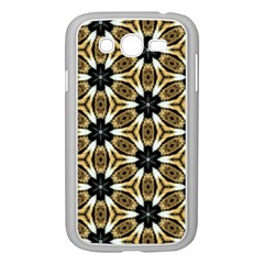 Faux Animal Print Pattern Samsung Galaxy Grand Duos I9082 Case (white) by creativemom