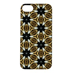 Faux Animal Print Pattern Apple Iphone 5s Hardshell Case by creativemom