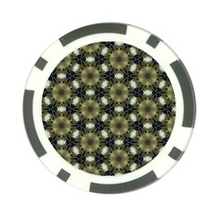 Faux Animal Print Pattern Poker Chip by creativemom
