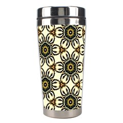 Faux Animal Print Pattern Stainless Steel Travel Tumbler by creativemom