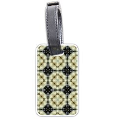 Faux Animal Print Pattern Luggage Tag (one Side) by creativemom