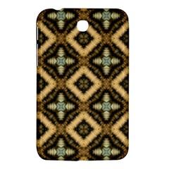 Faux Animal Print Pattern Samsung Galaxy Tab 3 (7 ) P3200 Hardshell Case  by creativemom