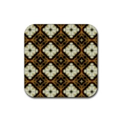 Faux Animal Print Pattern Drink Coasters 4 Pack (square)