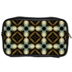 Faux Animal Print Pattern Travel Toiletry Bag (one Side) by creativemom