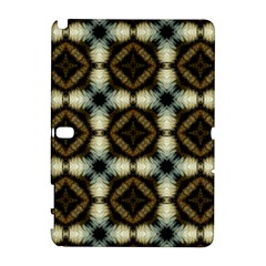 Faux Animal Print Pattern Samsung Galaxy Note 10 1 (p600) Hardshell Case by creativemom