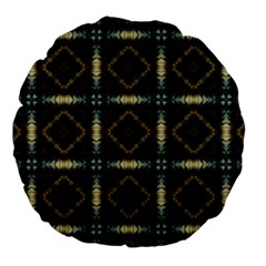 Faux Animal Print Pattern 18  Premium Flano Round Cushion  by creativemom