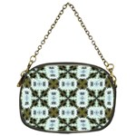 Faux Animal Print Pattern Chain Purse (Two Sided)  Back