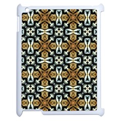 Faux Animal Print Pattern Apple Ipad 2 Case (white) by creativemom