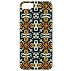 Faux Animal Print Pattern Apple Iphone 5 Classic Hardshell Case by creativemom
