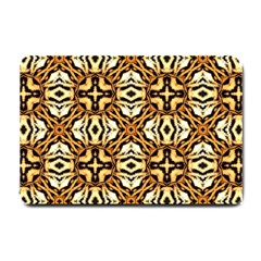 Faux Animal Print Pattern Small Door Mat by creativemom