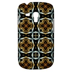 Faux Animal Print Pattern Samsung Galaxy S3 Mini I8190 Hardshell Case by creativemom