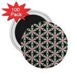 Cute Pretty Elegant Pattern 2.25  Button Magnet (100 pack) Front
