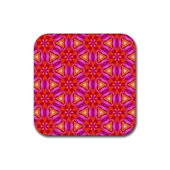 Cute Pretty Elegant Pattern Drink Coaster (square) by creativemom