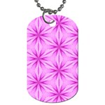 Cute Pretty Elegant Pattern Dog Tag (One Sided) Front