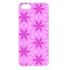 Cute Pretty Elegant Pattern Apple Iphone 5 Seamless Case (white) by creativemom