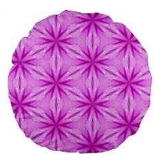 Cute Pretty Elegant Pattern 18  Premium Round Cushion  by creativemom