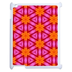 Cute Pretty Elegant Pattern Apple Ipad 2 Case (white) by creativemom