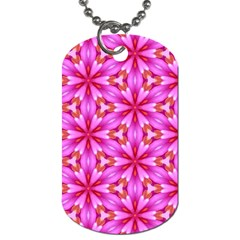 Cute Pretty Elegant Pattern Dog Tag (two-sided)  by creativemom