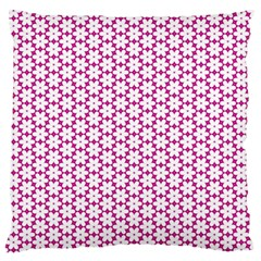 Cute Pretty Elegant Pattern Standard Flano Cushion Case (one Side) by creativemom