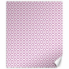 Cute Pretty Elegant Pattern Canvas 8  X 10  (unframed) by creativemom
