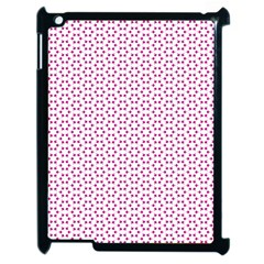 Cute Pretty Elegant Pattern Apple Ipad 2 Case (black)