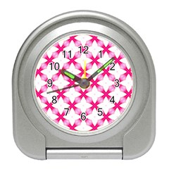 Cute Pretty Elegant Pattern Desk Alarm Clock