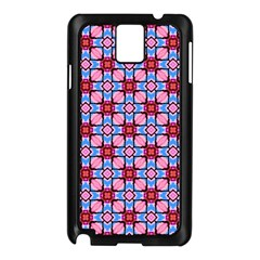Cute Pretty Elegant Pattern Samsung Galaxy Note 3 N9005 Case (black) by creativemom