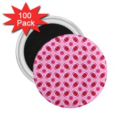 Cute Pretty Elegant Pattern 2 25  Button Magnet (100 Pack) by creativemom