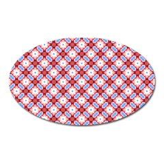 Cute Pretty Elegant Pattern Magnet (oval) by creativemom