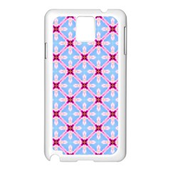 Cute Pretty Elegant Pattern Samsung Galaxy Note 3 N9005 Case (white) by creativemom