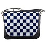 Cute Pretty Elegant Pattern Messenger Bag Front