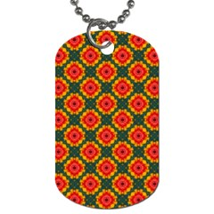 Cute Pretty Elegant Pattern Dog Tag (one Sided) by creativemom