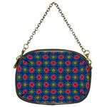 Cute Pretty Elegant Pattern Chain Purse (Two Sided)  Back