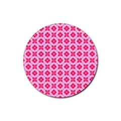 Cute Pretty Elegant Pattern Drink Coasters 4 Pack (round) by creativemom