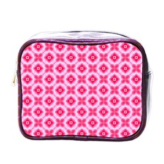 Cute Pretty Elegant Pattern Mini Travel Toiletry Bag (one Side) by creativemom