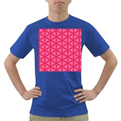 Cute Pretty Elegant Pattern Men s T-shirt (colored) by creativemom