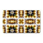 Cute Pretty Elegant Pattern Magnet (Rectangular) Front