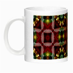Cute Pretty Elegant Pattern Glow In The Dark Mug by creativemom