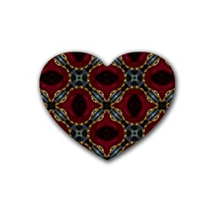 Cute Pretty Elegant Pattern Drink Coasters 4 Pack (heart)  by creativemom