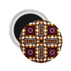 Cute Pretty Elegant Pattern 2 25  Button Magnet