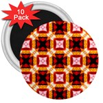 Cute Pretty Elegant Pattern 3  Button Magnet (10 pack) Front