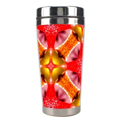 Cute Pretty Elegant Pattern Stainless Steel Travel Tumbler by creativemom