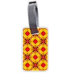 Cute Pretty Elegant Pattern Luggage Tag (two Sides) by creativemom
