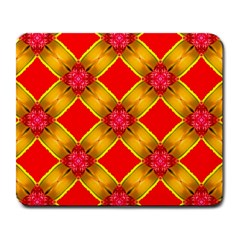 Cute Pretty Elegant Pattern Large Mouse Pad (Rectangle)