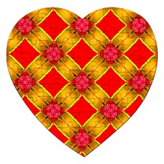 Cute Pretty Elegant Pattern Jigsaw Puzzle (Heart)
