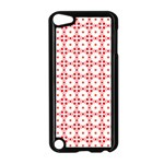 Cute Pretty Elegant Pattern Apple iPod Touch 5 Case (Black) Front
